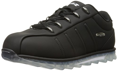Lugz Mens Changeover Ice Fashion Sneaker Black / Clear