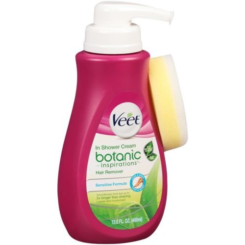 Veet In Shower Botanic Inspirations Hair Remover Cream, 13.5 Fluid Ounce -- 4 per case.