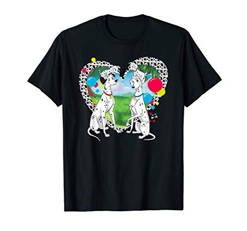 Disney 101 Dalmatians Pongo and Perdita T-Shirt]()