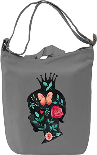 Little princess Borsa Giornaliera Canvas Canvas Day Bag| 100% Premium Cotton Canvas| DTG Printing|