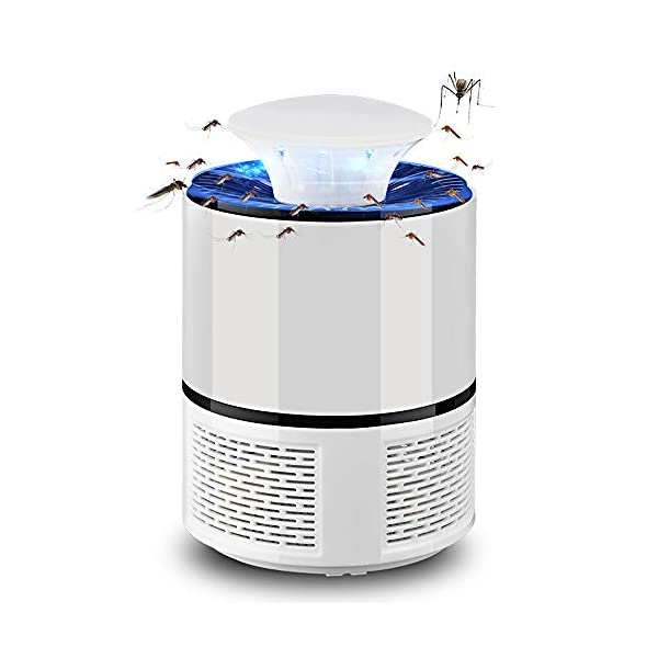 Lampada Antizanzara Elettrica,KKmoon 5 W Zanzariera Elettrica Lampada Anti Zanzara UV USB Alimentato Trappola Zanzare… 1 spesavip