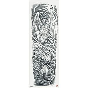 7pcs Budismo pieza pieza del tatuaje etiqueta engomada del tatuaje ...