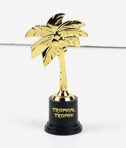 Plastic Tropical Trophies (1 dz)