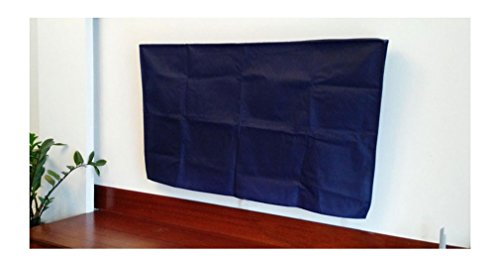 Bodu TV Cover Full Body Sleeve 30 to 32 Inches LED LCD Panel Dust Cover,Scratch Resistance With Cleaning (76W x 45H x 10D) (Navy Blue)