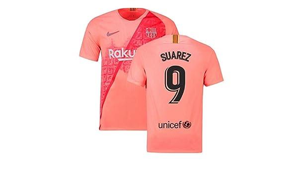 2018-2019 Barcelona Third Nike Football Soccer T-Shirt Camiseta (Luis  Suarez 9)  Amazon.es  Deportes y aire libre c4cdc06242594