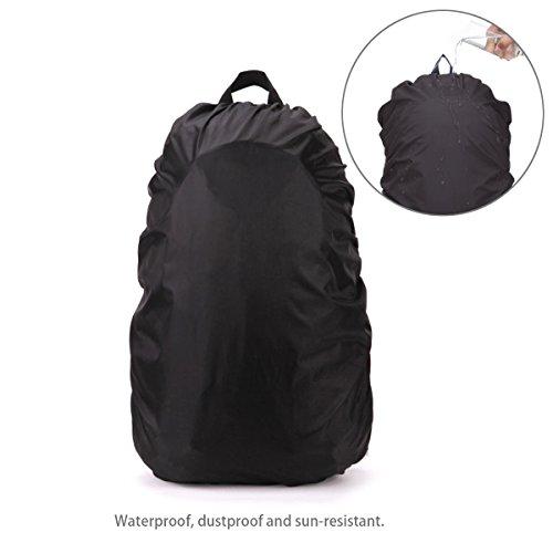 41IJzfNAJuL. SS500  - PIXNOR Nylon Waterproof Backpack Rain Cover for Hiking/Camping/Traveling/Outdoor Activities
