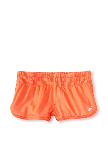 O'Neill Girl's 7-16 Candy Board Shorts, Hot Coral, (11 Girls Boardshorts)
