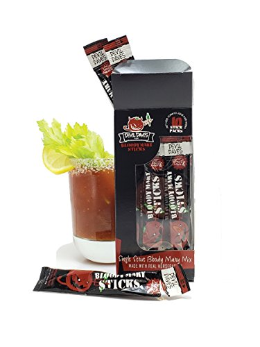 Devil Daves Bloody Mary Seasoning | 10 Pack Cocktail Mix - Devils Beverage