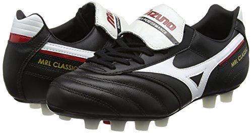 Classic Noir De Blanc noir Hommes Rouge Mizuno Morelia Md Chaussures Football E70nXCxqwU