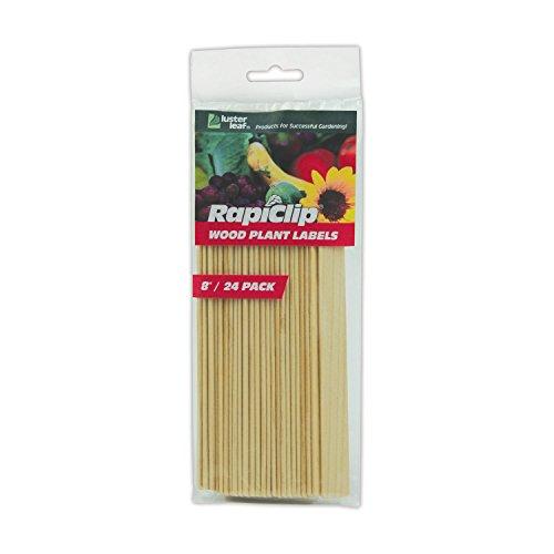 (Luster Leaf 813 Rapitest Wood Plant Labels, 8