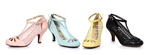 bettie-page-vintage-closed-toe-kitten-heel-t-strap-lace-pump-bp320-posey-yellow-8