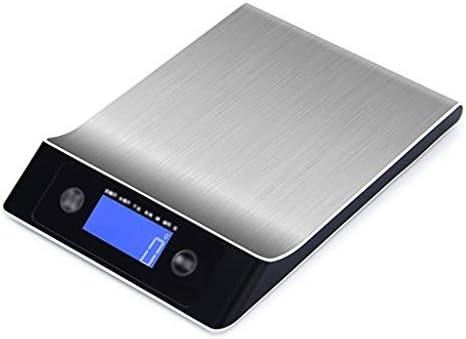 QIQIDEDIAN 食品スケール精密ホームキッチン電子スケールプロフェッショナルヴィンテージティーショップステンレス鋼 (Size : 10kg/1g)