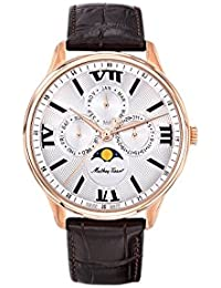 Edmond Moon Phase Silver Dial Mens Watch H1886RPI. Mathey-Tissot