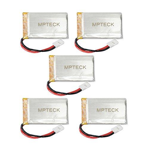 MPTECK–Batera-Lipo-de-repuesto-37V-750mAh-x5-5-en-1-Cargador-para-RC-Cuadricptero-Syma-X5-x5C-x5C-1-X5SC-X5SW-Drone