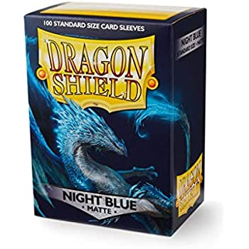 Amazon.com: Dragon Shield 100 Sleeves - Red: Toys & Games