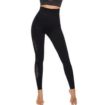 zarupeng✦‿✦ Pantalones de Yoga de Cintura Alta para ...