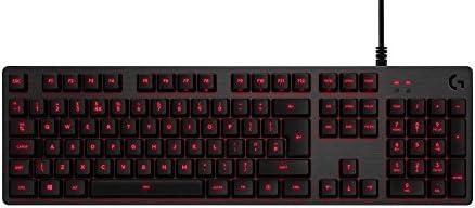 Logitech G413 Teclado Gaming Mecánico, Teclas Retroiluminadas, Teclas Romer-G Táctil, Aleación de Aluminio 5052, Personalizable, Conexión de Paso de ...