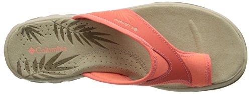 Fossil Vent Flame Kea Women's Sandals Columbia Coral qw8aYH6