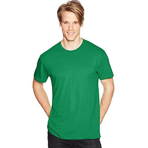 Hanes by Men's Nano-T-Shirt_Kelly Green_XL