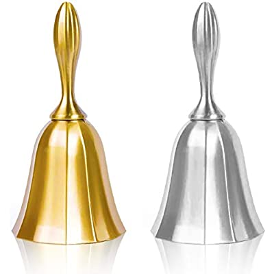 hand-bell-2pcs-golden-silver-steel