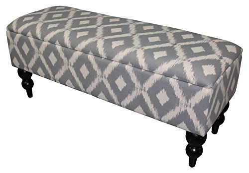 - Ore International HB4619 Safari Print Storage Bench, 17.75