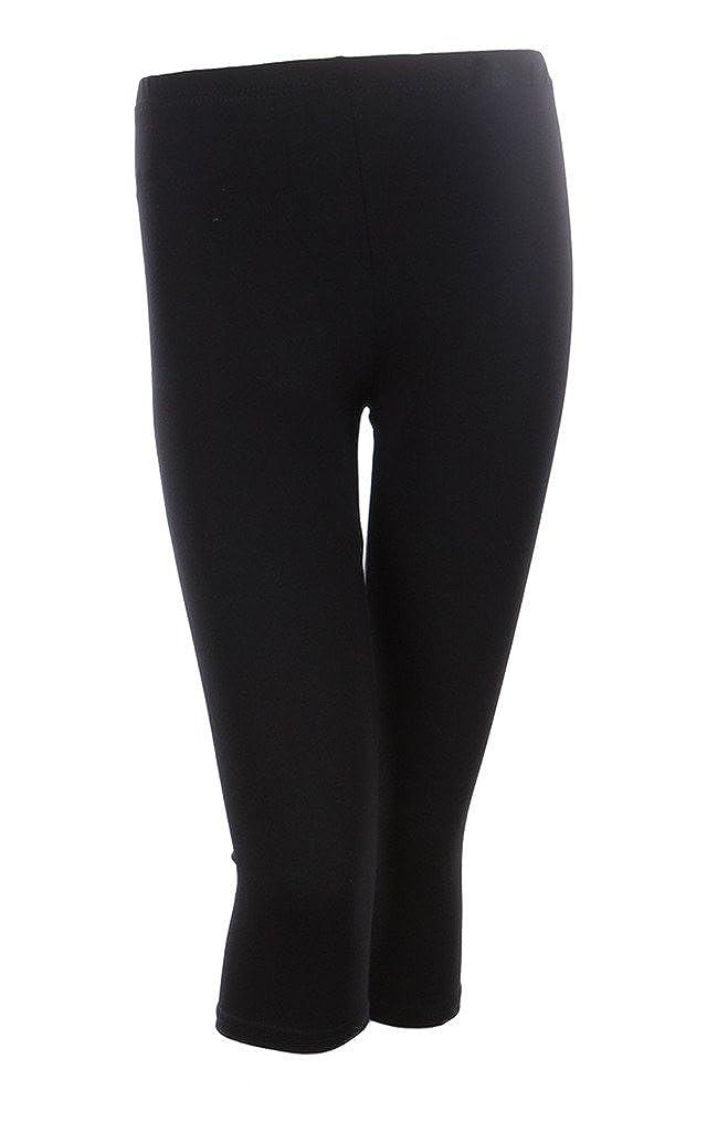 85c7509646e Ola Mari Capri Leggings Pants Capris for Women   Plus Size Plain Cotton at  Amazon Women s Clothing store