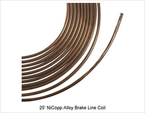 AGS CNC425 Brake Line 25 Ft. Coil
