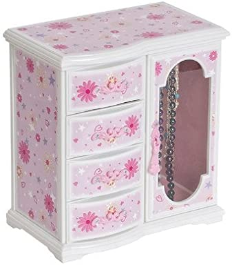 Viv + Rae Madelyn Musical Ballerina Jewelry Box, Pink