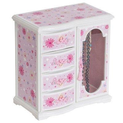 Viv + Rae Madelyn Musical Ballerina Jewelry Box, Pink by Viv + Rae