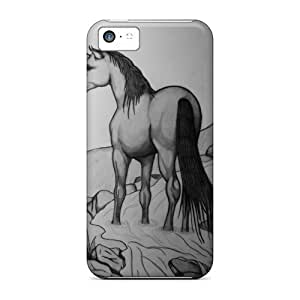 Iphone Case - Tpu Case Protective For Iphone 5c- Unicorn