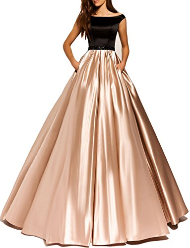 JoJoBridal-Womens-A-Line-Stain-Bateau-Neck-Bodice-Long-Prom-Dress-HC028