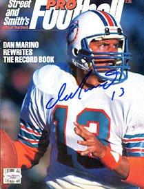 (Dan Marino Autographed / Signed Pro Football Program (James Spence))