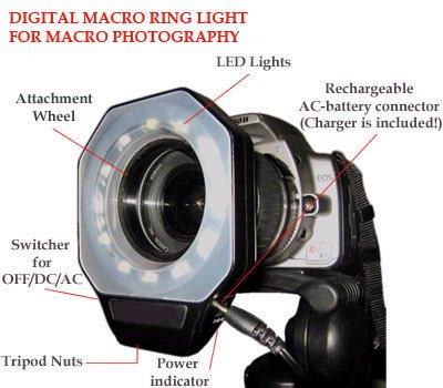 Dr 6000 Digital Led Macro Ring Light