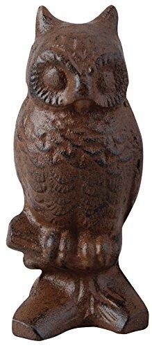 Esschert Design Cast Iron Decorative Owl, Small For Sale