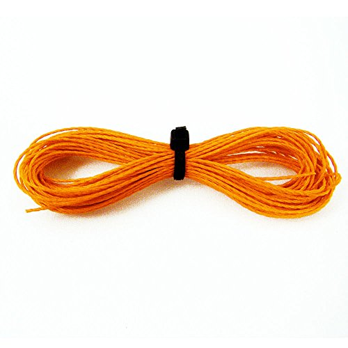 Kevlar Cord Survival Paracord Rope 200lbs Strength (Orange, 1000ft) by ASR Tactical