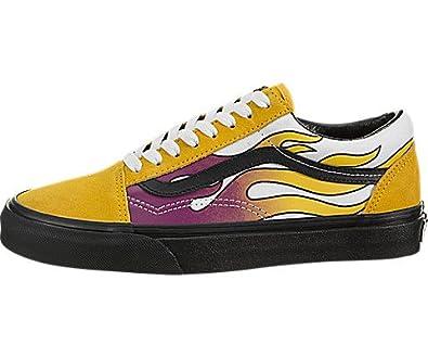 7ec397263f9 Vans Old Skool (Flame) Size  5.5 UK  Amazon.co.uk  Shoes   Bags