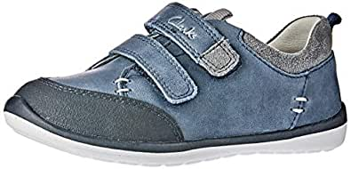 Clarks Boys Marco Shoes, Blue, 10 AU