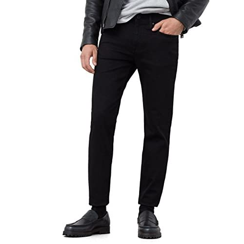 e6c3f9c6d23e2 high-quality Mango Men's Slim-Fit Black Jan Jeans - westexmetal.com