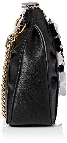 Boutique Moschino 7511 8211 None, Borsa Donna, Multicolour (Black and White), Taglia unica