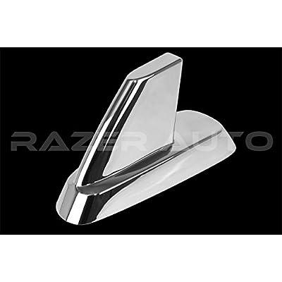 Razer Auto Chrome Antenna Cover for 07-13 Chevy Silverado 1500/2500/3500,07-14 Tahoe,Suburban, 07-13 GMC Sierra 1500/2500/3500, 07-14 GMC Yukon, Yukon XL Chrome Antenna Cover: Automotive