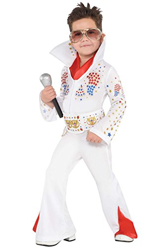Boys King of Rock 'n' Roll Costume - Toddler (3-4) -