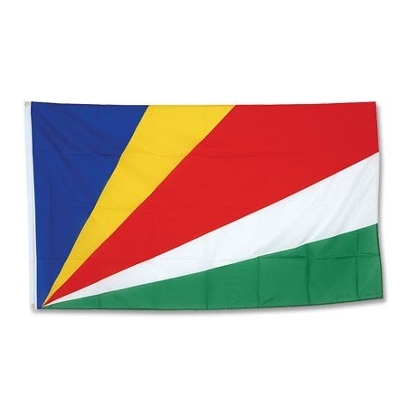 Seychelles Bandera Grande 90x 150cm