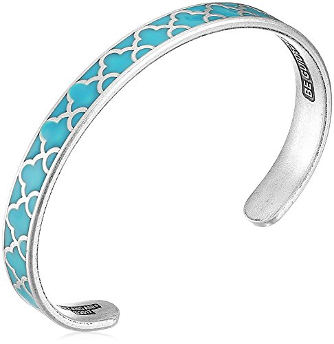 Bold Cuff Bracelet (Alex and Ani Color Infusion Island Teal Cuff Bracelet)