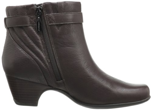 Brown Leyden Bootie Scale Women's Leather Clarks RqIZax