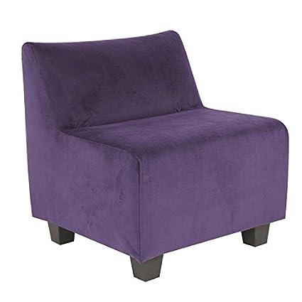 Fabulous Howard Elliott 823 223 Pod Chair Bella Eggplant Evergreenethics Interior Chair Design Evergreenethicsorg