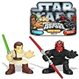 : Star Wars Galactic Heroes: Obi-Wan Kenobi and Darth Maul Figure 2-Pack