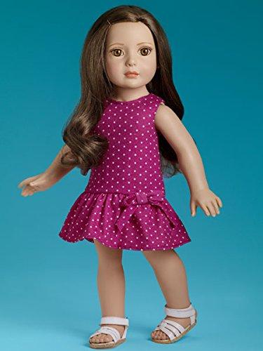 """T15RTEB02 My Imagination Starter Brunette 18"""" Dressed Tonner Play Doll 2015"""