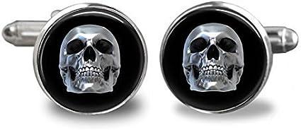 boutons de manchette tête de mort 7