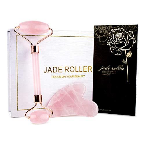 BAIMEI Jade Roller Rose
