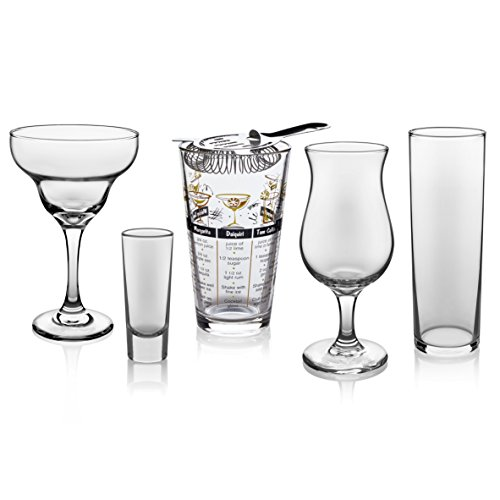 Libbey Mixologist 18-Piece Bar in a Box Cocktail Set by Libbey (Image #2)